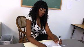 Teacher, African, Aunt, Big Tits, Black, Black Big Tits