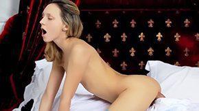 Natasha Von, Ball Licking, Bed, Bimbo, Bitch, Blonde