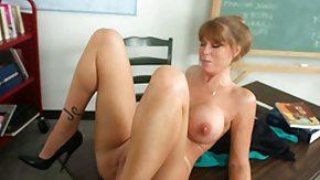 Darla Crane, Big Tits, Blonde, Boobs, Classroom, Desk