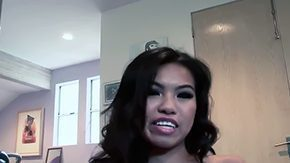 HD Asian Club Sex Tube Dude Alex Gonz enjoys filming asian chic Cindy Starfall with taut hot butt like a babe in the woods boobies in snappy dresser heels meanwhile she teases him plays stripping