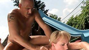 Granny, Ball Licking, Beaver, Big Natural Tits, Big Pussy, Big Tits