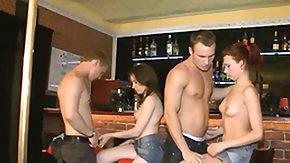 Bar, Bar, Couple, Cute, Group, Hardcore