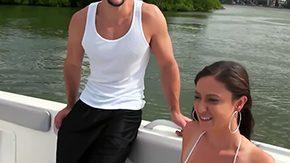 Victoria Love, Amateur, Banana, Beach, Bikini, Boat