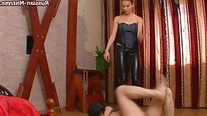 Russian Fetish, Basement, BDSM, Boots, Dominatrix, Femdom