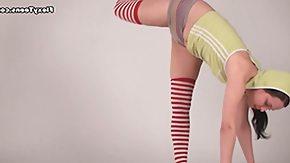 Inna, Acrobatic, Athletic, Brunette, Flexible, Gym