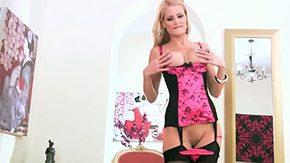 Chloe Conrad, Amateur, Babe, Banana, Blonde, Corset