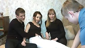 Russian, Amateur, Babe, Blowjob, Brunette, Group