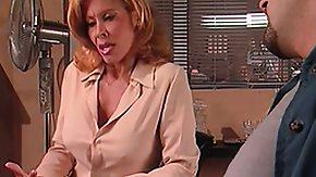 Prison, BBW, Bend Over, Big Tits, Blonde, Blowjob