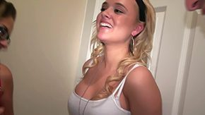 Allexis Blow, Blonde, Coed, College, Cute, French Teen