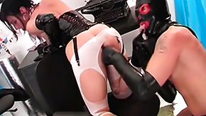 Leather, Adorable, Angry, Bitch, Blowjob, Brunette