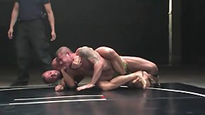Muscle, Bodybuilder, Bound, Fight, Gay, Hogtied