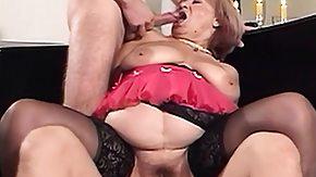 Old, Big Cock, Bitch, Blonde, Blowjob, Hardcore