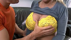 Mommy, American, Aunt, Big Cock, Big Natural Tits, Big Nipples