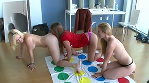 Twister, Babe, Blonde, Game, High Definition, Lesbian