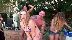 Farrah, 10 Inch, American, Bend Over, Big Cock, Big Natural Tits
