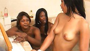 3 Some, 3some, Bath, Bathing, Bathroom, Black