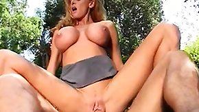 Outdoor, Big Tits, Blonde, Blowjob, Boobs, Fucking