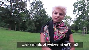 HD Publicagent Sex Tube PublicAgent: Blonde lesbian takes cock for green stuff