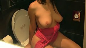 Toilet, Adorable, Allure, Babe, Banging, Bend Over