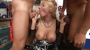 Helena White HD porn tube Helena White gets her mouth destroyed by guys rod