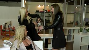 Mature Lesbian HD porn tube WeLiveTogether - Office play