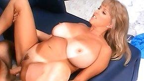 Bouncing Tits, Big Cock, Big Tits, Blonde, Boobs, Fucking