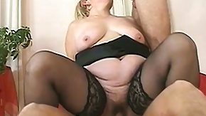 Granny, Blonde, Blowjob, Cum, Experienced, Grandma