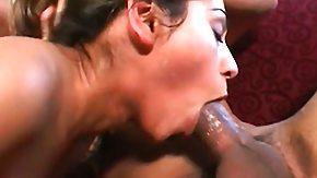 Sahara Knite HD porn tube Sweet Milf Sahara Knite deep throats, fucks and takes a mouthful enclosed by a threesome