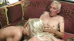 3some, 3some, Blonde, Blowjob, Cute, Dirty