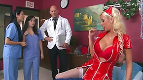Doc, Blonde, Blowjob, Hospital, MILF, Nurse