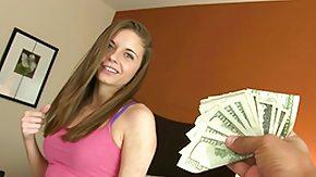 Money Talks, Blowjob, Cash, Casting, Cute, Money