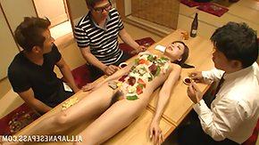 Sushi, Fingering, Foursome, Lady, Sex, Vibrator