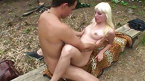 Sandra Blond, Ball Licking, Blonde, Blowbang, Blowjob, Deepthroat