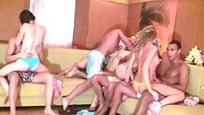 French Swingers, Blowbang, Blowjob, College, French Orgy, French Swingers