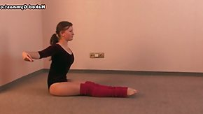 Acrobatic, Acrobatic, Athletic, Blonde, Flexible, Gym