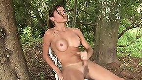 Shemale Massage High Definition sex Movies Tanned busty shemale Kamila is massaging her big throbbing penis