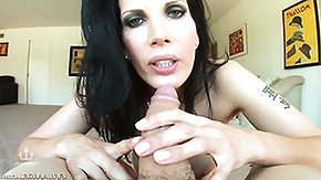 Long Hair, Beauty, Blowjob, Brunette, Cute, Handjob