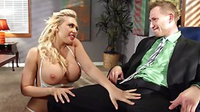 Office, Big Tits, Bitch, Blonde, Blowjob, Office