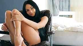 Jasmin, Babe, Bed, Bedroom, Bikini, Brunette