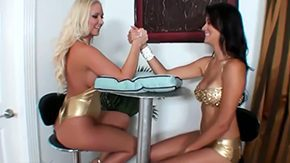 Lesbian Lingerie, Clothed, Erotic, Fight, Fucking, High Definition