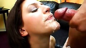 Eve Laurence, Bed, Bitch, Blowjob, Brunette, College