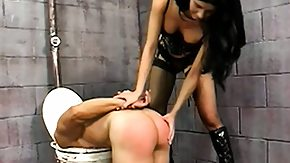 Prison, Angry, Ass, Babe, BDSM, Brunette