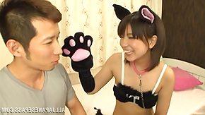 Kitty Cat, Babe, Blowjob, Brunette, Fingering, Japanese