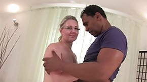 Grandma, Big Black Cock, Blonde, Blowjob, Cum, Cute