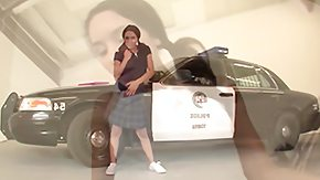 Arisal, Boobs, Car, Coed, Cop, Flat Chested