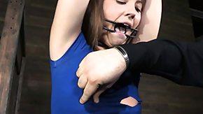 Whipping, Babe, BDSM, Bound, Brunette, Fetish
