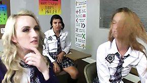 Schoolgirls, Coed, Fingering, High Definition, Lesbian, Lesbian Teen