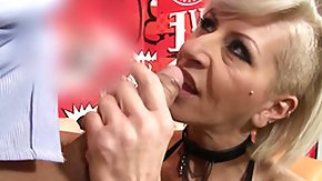 Granny, Blonde, Blowjob, Experienced, Fingering, German Mature