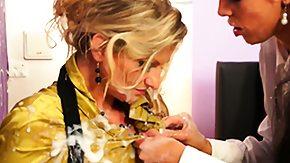 HD Messy Lesbian tube Strapon caning lesbians messy fun