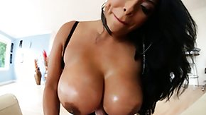 Titty Fucking, Big Tits, Bitch, Boobs, Brunette, Fucking